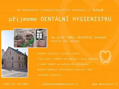 Hledáme hygienistu/ku