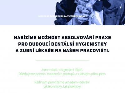Nabídka praxe studentům zubního lékařství