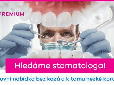 Stomatolog - plný i zkrácený úvazek, vhodné i pro absolventy