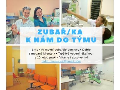 Zubní lékař/lékařka Brno